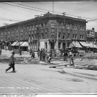 Queen and Spadina Construction, 100 Years Ago